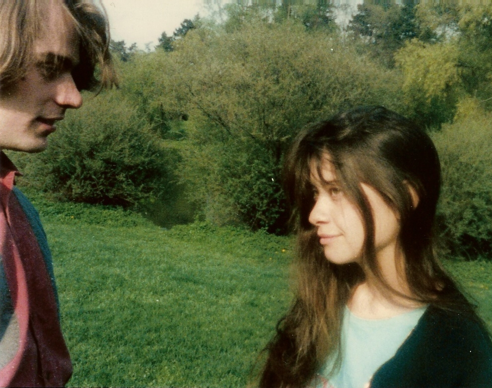 Ryszard and Rachel in 1987.